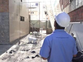 Momento diferente na construção civil